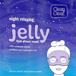 Lot of 10x Clean & Bright Jelly Eye Face Mask